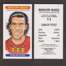 Manchester United Carlos Tevez Argentina 11 (2)